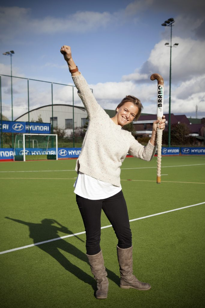 Evdj 395461 Charlotte De Vos, repo over haar leukste plekjes in Edegem (Hockeyclub, Fort en haar lagere school)