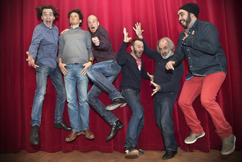 Evdj 399138 Acteurs van nieuw televisieprogramma op Canvas: Comedian vindt werk.